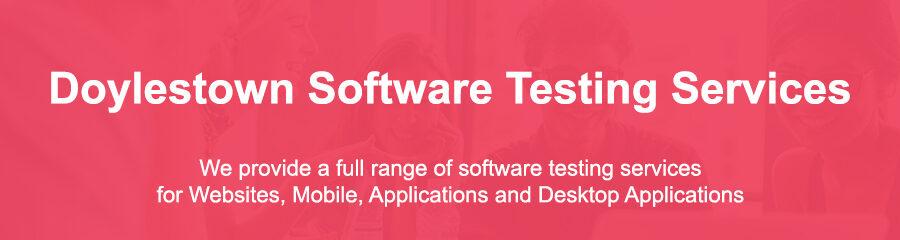 Automated Software Testing Doylestown Pa