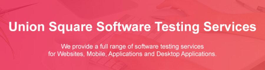 Manual Software Testing Union Square Massachusetts