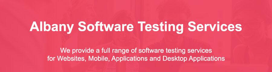 Software Testing Albany Ny