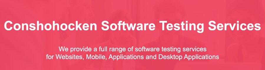 Software Testing Conshohocken Pa
