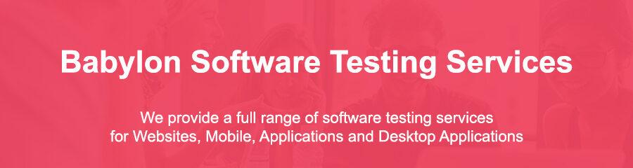Software Testing Services Babylon Ny