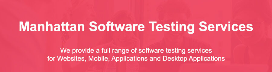Testing In Software Engineering Manhattan Ny