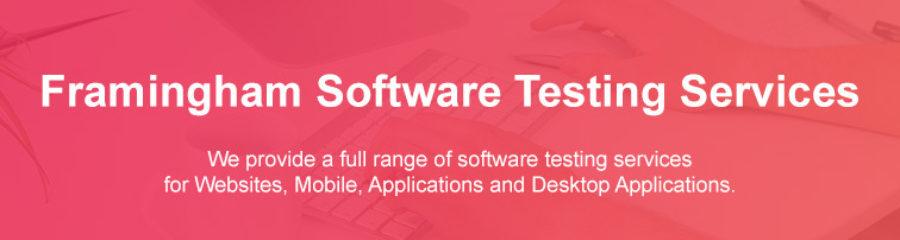 Web Services Testing Framingham Massachusetts